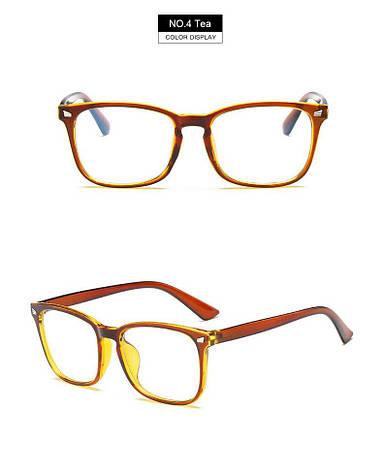 Kомп'ютерні окуляри Hipster Tea | Имиджевые очки для компьютера, фото 2
