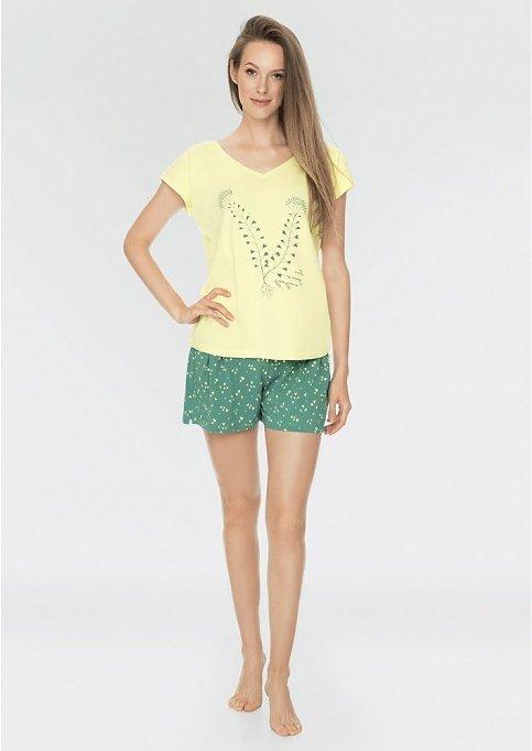 Пижама женская / Домашняя одежда  Key LNS 519 A19 Размеры: S