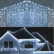 Новогодняя гирлянда бахрома 23,5 м 500 LED (Холодный белый), фото 2