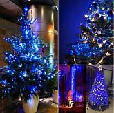 Новогодняя гирлянда 23 м 300 LED (Синий цвет), фото 3
