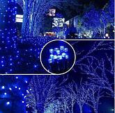 Новорічна гірлянда 54 м 700 LED (Синій колір), фото 2