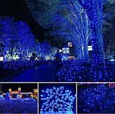 Новорічна гірлянда 54 м 700 LED (Синій колір), фото 3