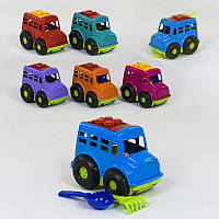 Автобус Бусик Color Plast - 179657