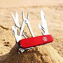 Нож складной, мультитул Victorinox Deluxe Tinker (91мм, 17 функций), красный 1.4723, фото 7