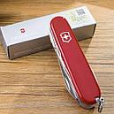 Нож складной, мультитул Victorinox Deluxe Tinker (91мм, 17 функций), красный 1.4723, фото 9