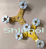 Алмазный инструмент для шлифовальной машины по бетону, фото 3