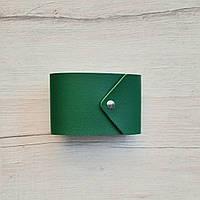 Визитница зеленая 20карт, фото 1