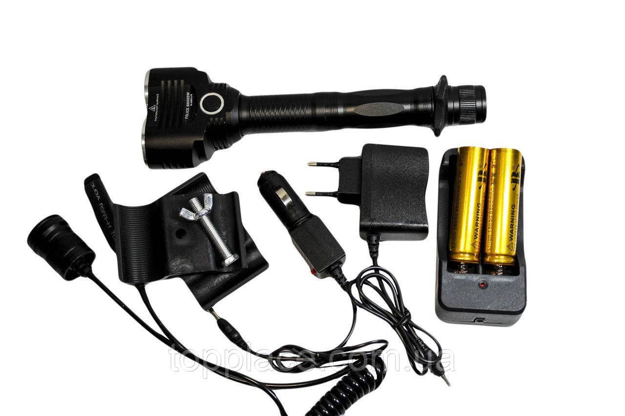 Подствольный светодиодный фонарь T6 BL Q2822 Черный (LS1010053865)