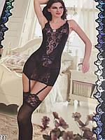 Полупрозрачный сексуальный комплект нижнего белья