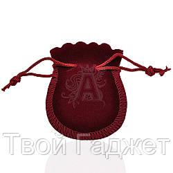 Мешочек подарочный велюровый на завязках (Цена за упаковку 25 шт)