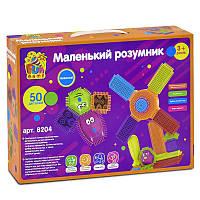 Конструктор игольчатый Fun Game Маленький Розумник, 50 деталей - 180366