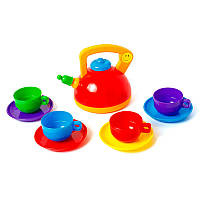 Набор игрушечной посуды Юная хозяйка на 9 предметов, фото 1