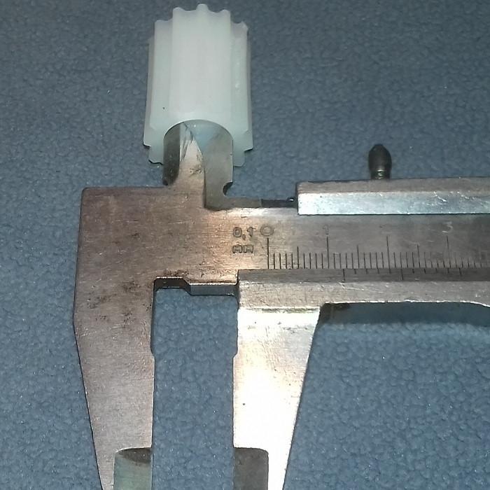Втулка для Флора (белая или чёрная) (H=27 mm, D=20 mm, зубьев = 12)