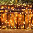 Новогодняя гирлянда 65 м 1000 LED (Теплый белый цвет), фото 6