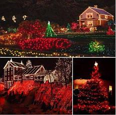 Новогодняя гирлянда 63 м 1000 LED (Красный цвет), фото 3