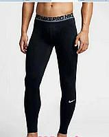 Термо-штаны мужские Nike Pro 2019 компрессионные штаны термобелье