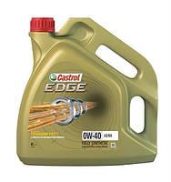 Моторное масло Castrol EDGE 0W40 A3/B4 (4л) API SN/CF, ACEA A3/B4