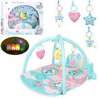 Коврик для младенца со множеством красочных игрушек - отличный подарок для малыша
