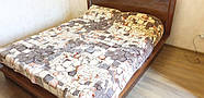 Плед на ліжко, 180×220 см (вага 2 кг - полегшене), TM CAPPONE, фото 4
