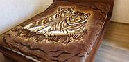 Плед на ліжко, 180×220 см (вага 2 кг - полегшене), TM CAPPONE, фото 6