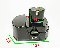 Аккумулятор 12 V башмак Ni-Cd для шуруповерта