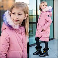 Зимняя детская куртка Heidi ТМ Brilliant Размеры  122- 140 Новинка зимы 2019-2020