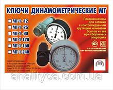 Ключ динамометрический (моментный) МТ-1-240 (20-250 н*м)