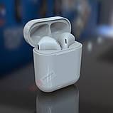 Беспроводные Bluetooth наушники i11 в стиле Apple AirPods сенсорные с кейсом для зарядки., фото 4