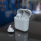 Беспроводные Bluetooth наушники i11 в стиле Apple AirPods сенсорные с кейсом для зарядки., фото 5