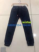 Джинсы утепленные для мальчиков оптом, Seagull, 134-164 см,  № CSQ-58080