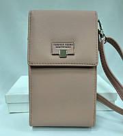 Клатч сумочка кошелек женский Forever, пудро розового цвета, фото 1