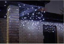Новогодняя гирлянда бахрома 18,5 м 500 LED (Холодный белый с синей вспышкой), фото 3