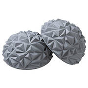 Полусфера массажная балансировочная риф серебро