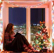 Новогодняя гирлянда 65 м 1000 LED (Многоцветный), фото 3