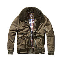 Куртка Brandit Perry Moleskin winterjacket XXL Оливковая (9443.1-XXL)
