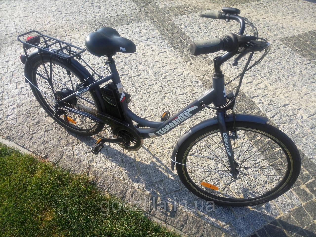 Гибридный электрический велосипед Teamraider E-line 26