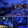 Новогодняя гирлянда 8 м 100 LED (Синий цвет), фото 5