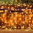 Новогодняя гирлянда 8 м 100 LED (Теплый белый), фото 9