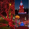 Новогодняя гирлянда 8 м 100 LED (Красный цвет), фото 4