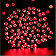 Новогодняя гирлянда 8 м 100 LED (Красный цвет), фото 5