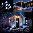 Новогодняя гирлянда 14,5 м 200 LED (Холодный белый цвет), фото 6