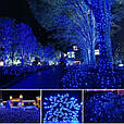 Новогодняя гирлянда 23 м 300 LED (Синий цвет), фото 7