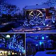 Новогодняя гирлянда 23 м 300 LED (Синий цвет), фото 8