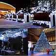 Новогодняя гирлянда 35 м 500 LED (Холодный белый цвет), фото 5
