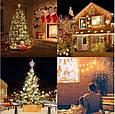 Новогодняя гирлянда 54 м 700 LED (Теплый белый цвет), фото 8