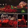 Новогодняя гирлянда 63 м 1000 LED (Красный цвет), фото 5