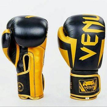Боксерские перчатки Venum реплика ( натуральная кожа), вес  - 10 и 12 унций