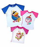 Комплект семейных футболок Смешарики