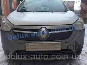 Зимняя матовая решетка на Renault Lodgy 2013↗ гг.