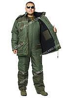 """Зимний теплый костюм для охоты и рыбалки """"Турист олива-хаки"""" - (в наличии все размеры 44-66)"""